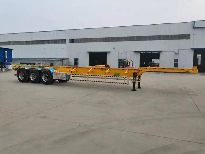 45尺集装箱yabox10骨架亚博体育官方平台